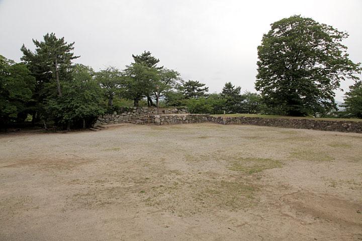 松阪城本丸・天守跡