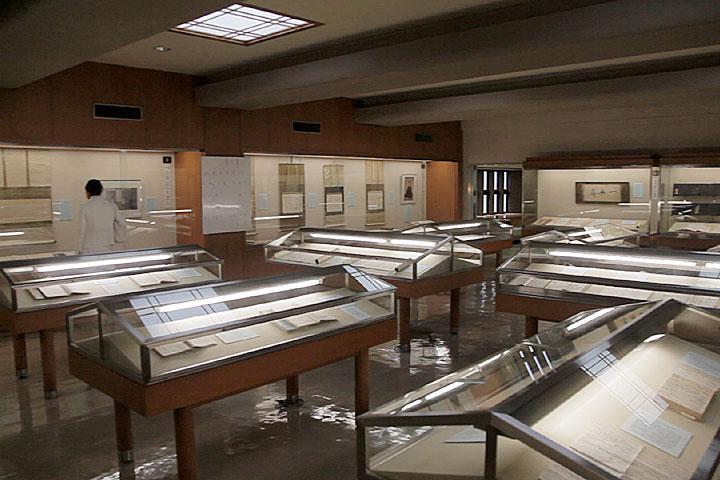 本居宣長記念館展示室