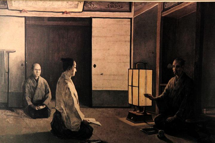 松阪の一夜 賀茂真淵(当時六十七歳)との出会い