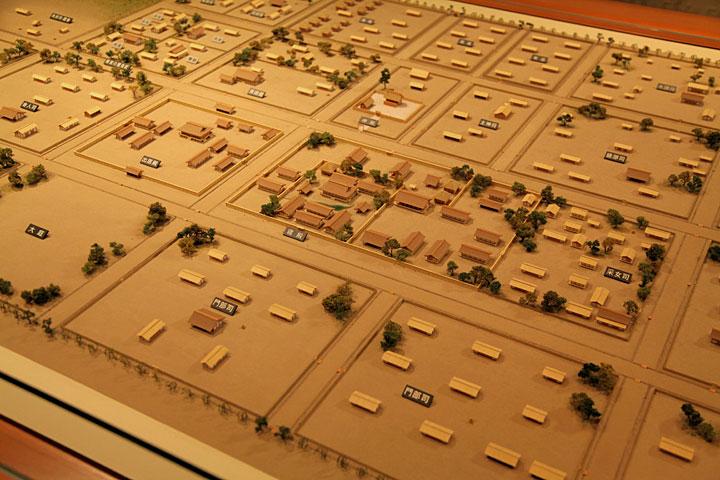 斎宮の模型(斎宮歴史博物館蔵)