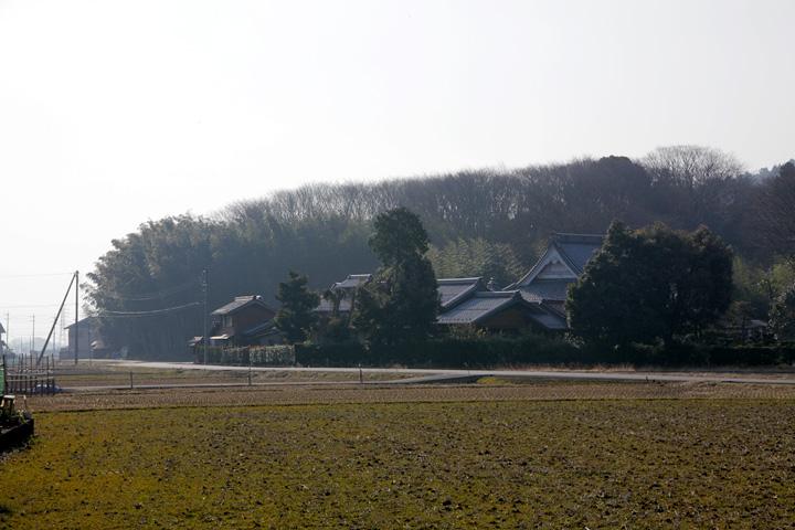 真泉寺付近(養老町沢田)