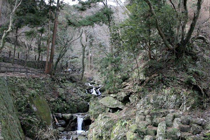 養老の滝へ