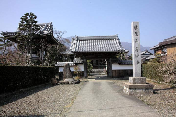 専明寺(養老町鷲巣)