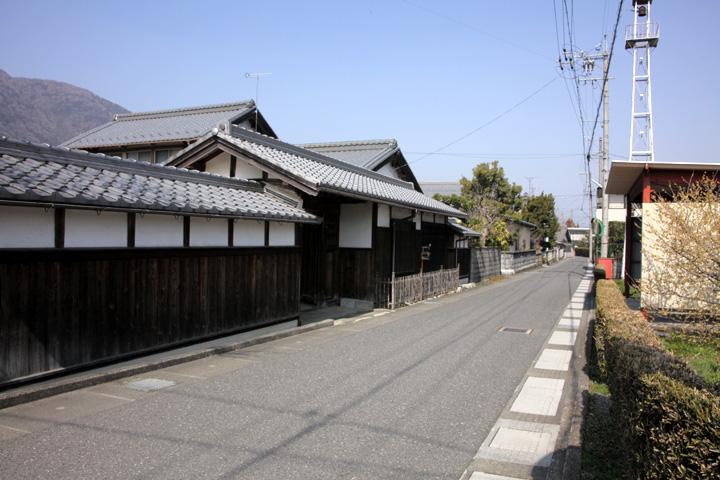 伊勢街道(養老町石畑)