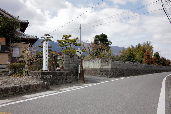 高札場跡(養老町小倉)