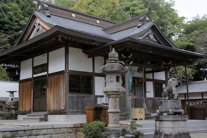 河原田神社拝殿