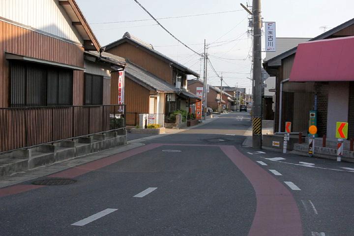 江島本町へ