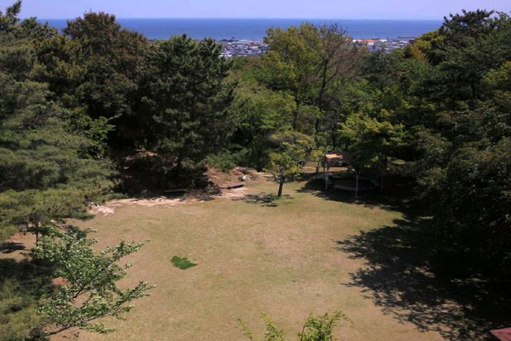 上野城本丸跡
