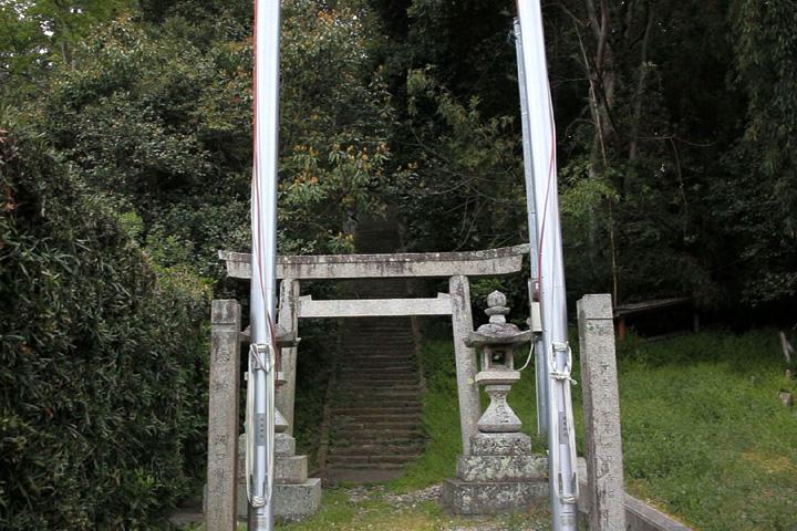 須賀神社参道の階段