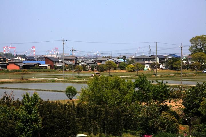 島貫の町並み
