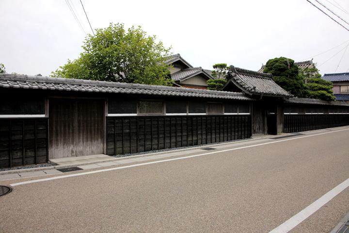 江戸時代中期の門