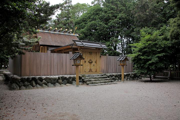竹神社本殿 斎王にゆかりの地