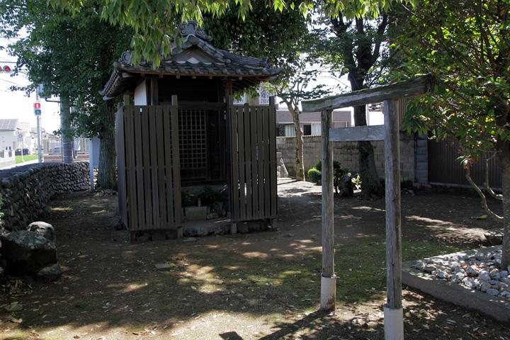 祓川 庚申堂 寛政年間(1789~1801)建立