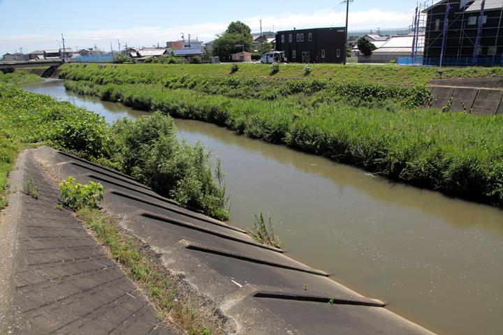 祓川 外城田川 水量の増減が激しく「貧乏川」と呼ばれた