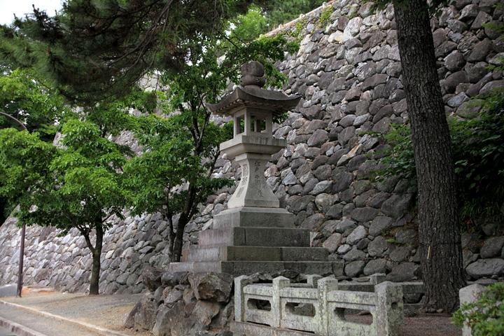 太神宮常夜燈 安永9年(1780)の建造