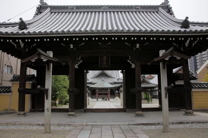 継松寺 天平15(743)に建てられたと伝わる