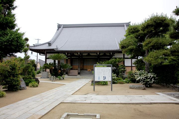 樹敬寺 浄土宗の寺で本居宣長一族の菩提寺