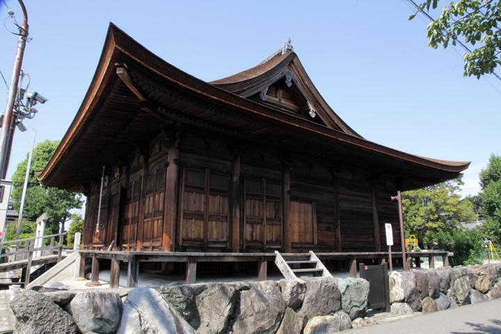 高田寺 薬師堂本堂(国重文)