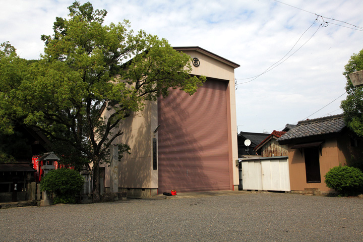 神明太一社 山車蔵