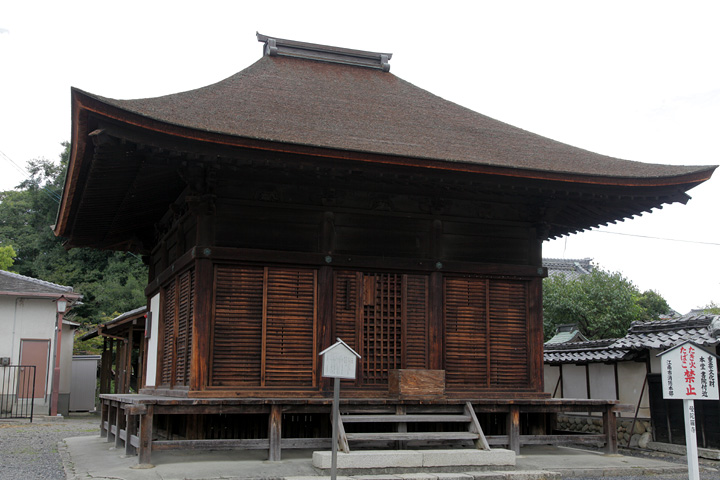 曼陀羅寺地蔵堂