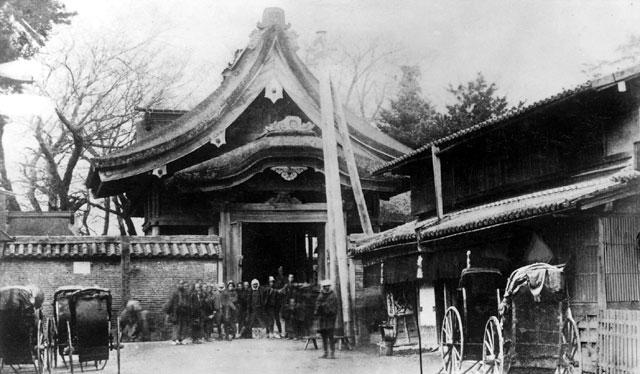 明治時代の上知麻我神社(源太夫社)