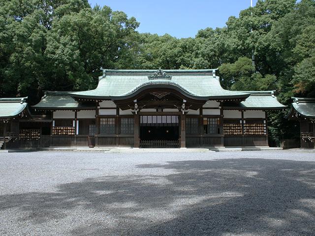 熱田神宮に移転した上知麻我神社