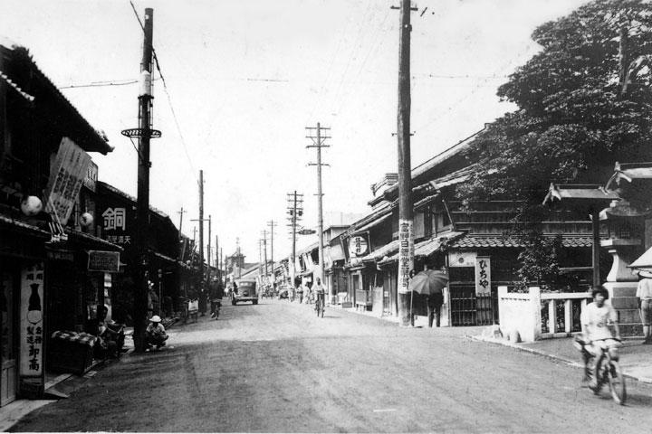 戦前の本町(橘町)