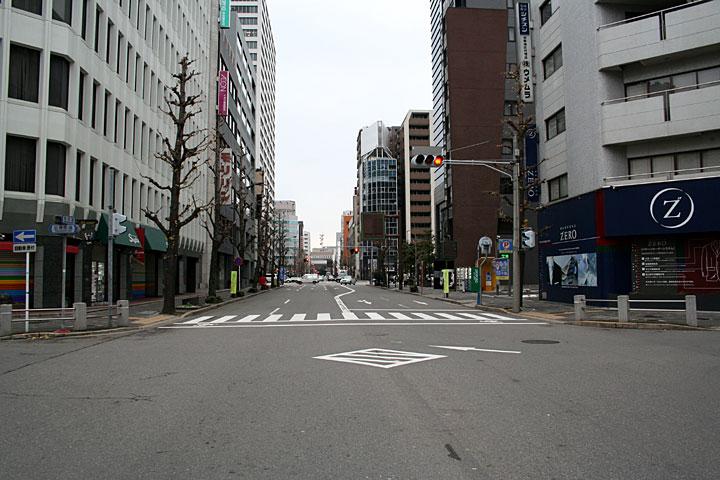 現在の伝馬町本町交差点
