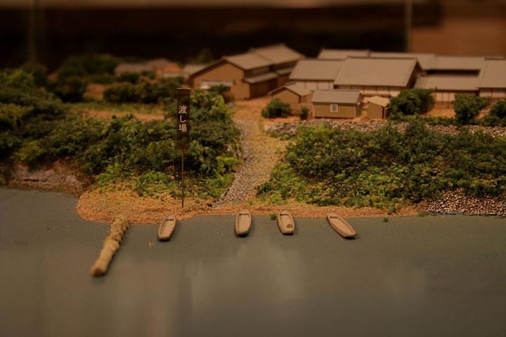 起定渡船場模型