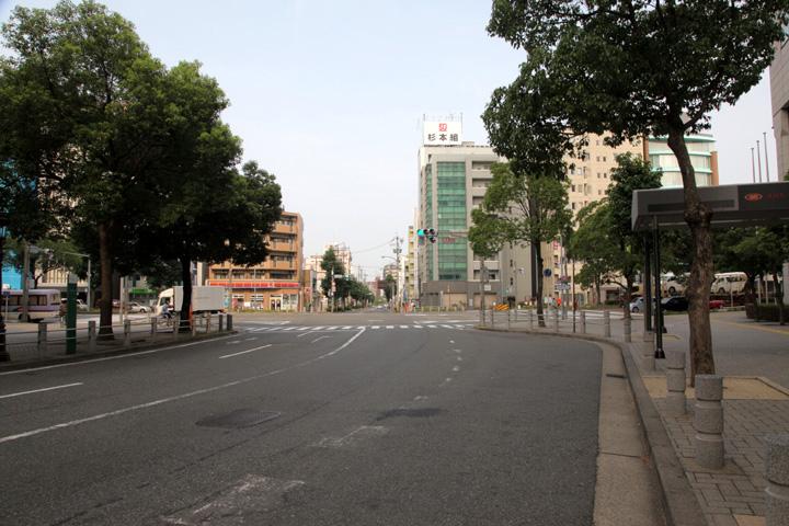 美濃路と佐屋街道分岐点