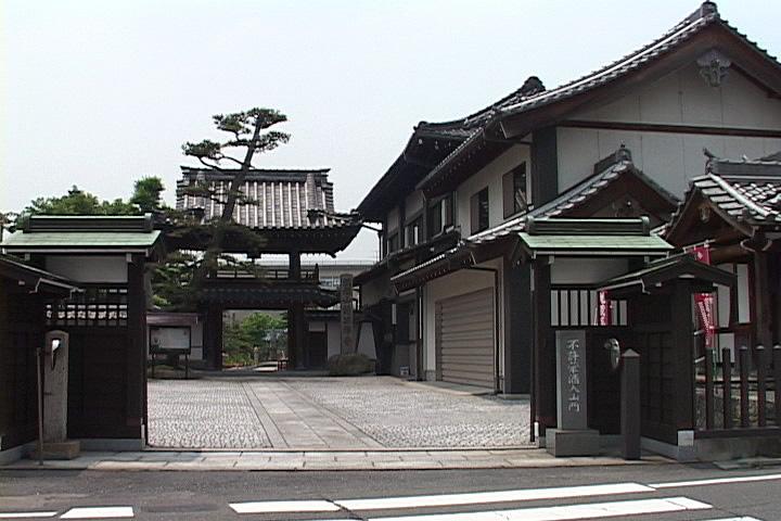 高札場周辺と清涼寺