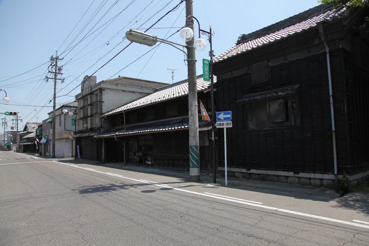 稲葉宿の町並み