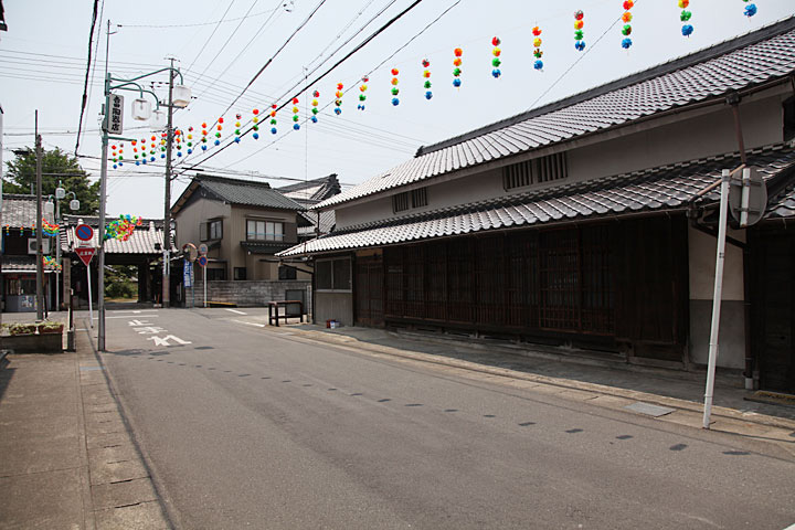 高札場跡と正瑞寺