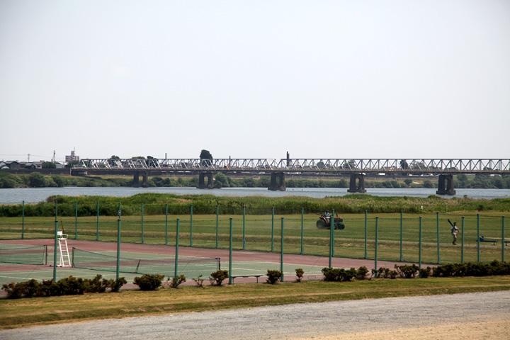 木曽川(羽島側から)