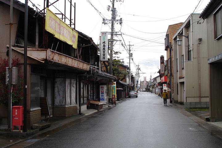 墨俣宿の風景