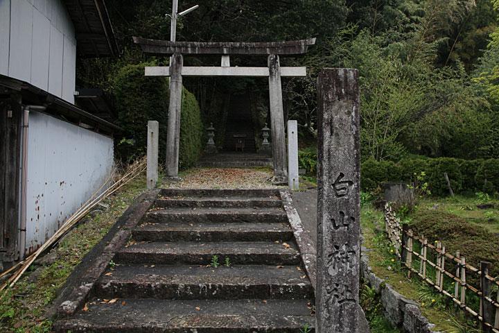 白山神社一の鳥居
