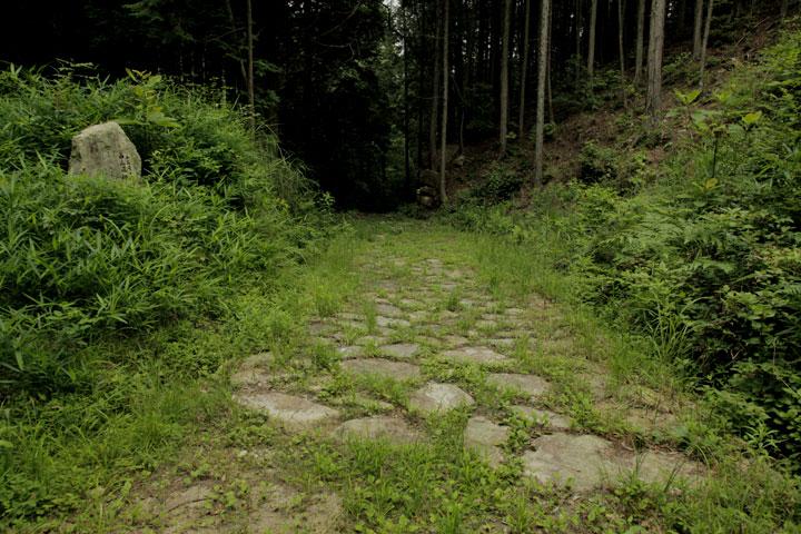 樫の木坂の石畳