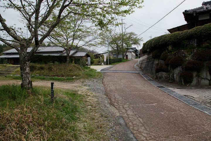 竹折村高札場跡