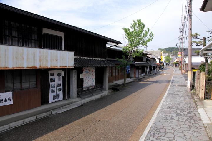 大井宿の町並み