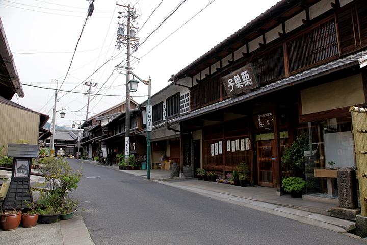 中津川宿横町