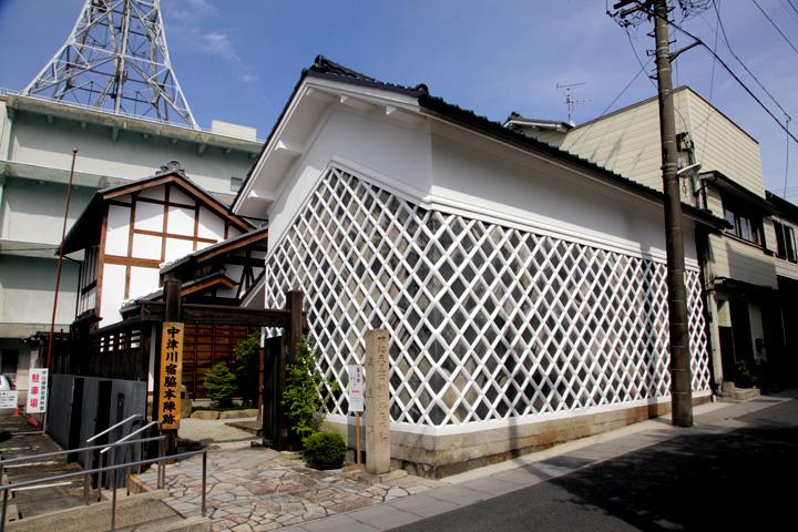 中津川宿脇本陣跡