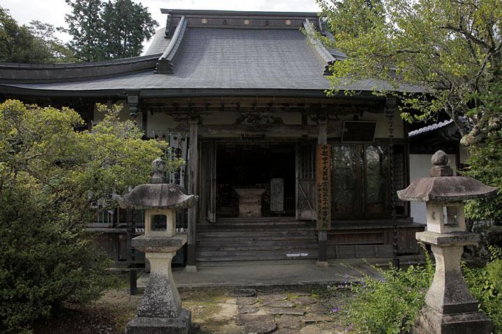 医王寺-別名、山中薬師といい、江戸時代には キツネ膏薬で有名