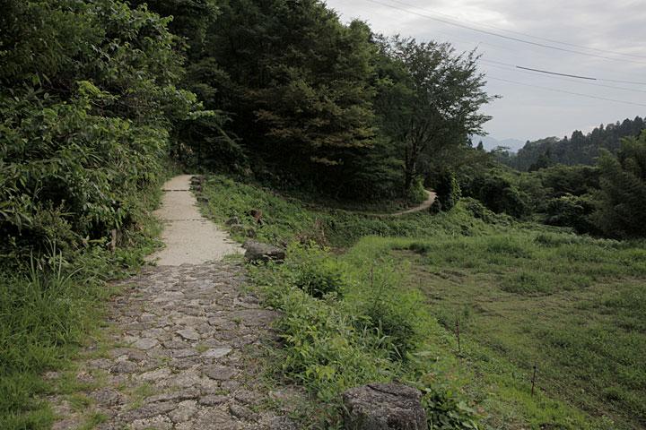 水車塚近辺の中山道