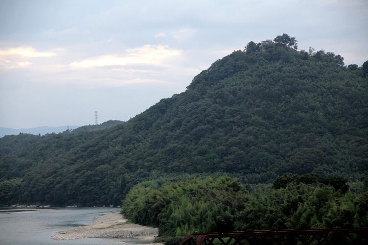 山頂の苗木城