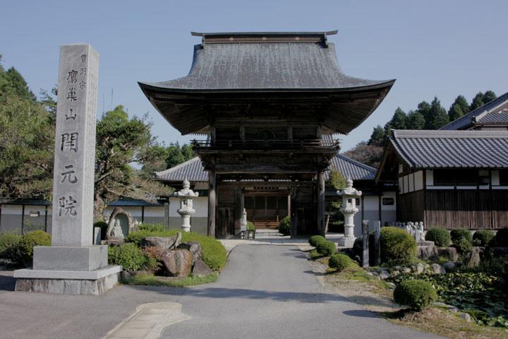 美濃源氏・土岐頼元が尽力し、月泉和尚によって室町時代の嘉吉3年(1443)に開かれた古刹