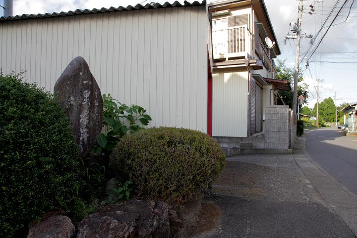 旧中山道 土田の一里塚