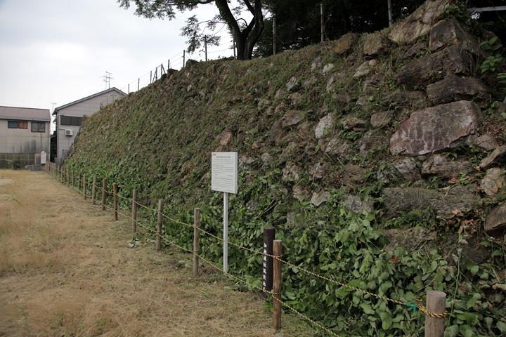 加納城跡石垣