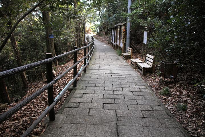 馬場跡- 岐阜城郭では唯一平坦な土地