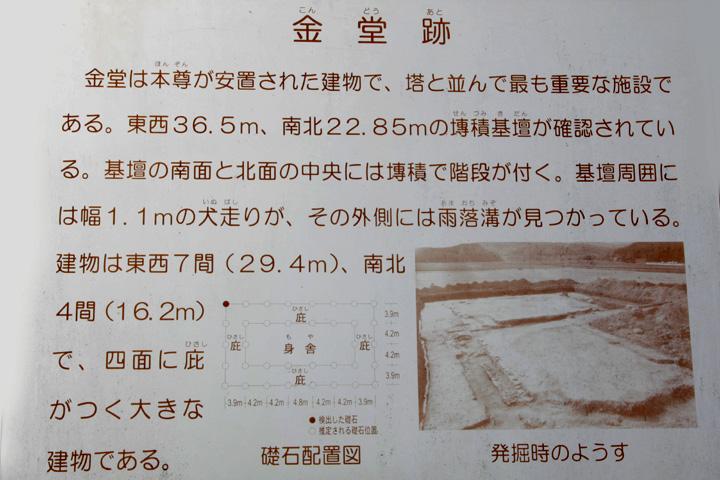美濃国分寺金堂跡