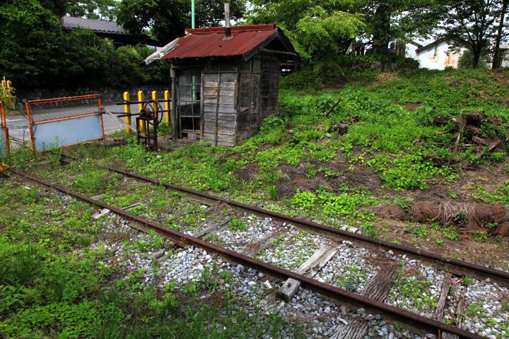 西濃鉄道石灰製造工場への引込線(廃線)
